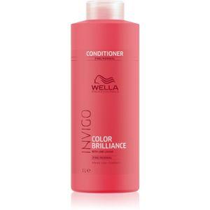Wella Professionals Invigo Color Brilliance kondicionér pro normální až jemné barvené vlasy 1000 ml