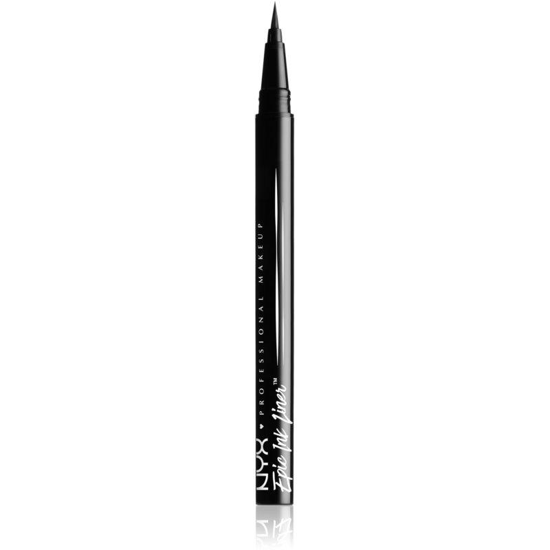 NYX Professional Makeup Epic Ink precizní voděodolná linka odstín 01 Black 1 ml