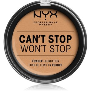 NYX Professional Makeup Can't Stop Won't Stop pudrový make-up odstín 7.5 - Soft Beige 10,7 g