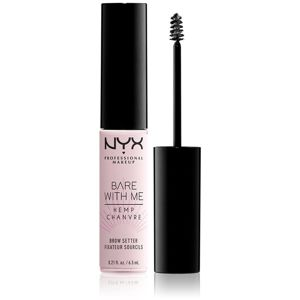 NYX Professional Makeup Bare With Me Hemp Brow Setter gel na obočí 6,5 ml