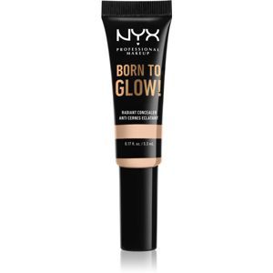 NYX Professional Makeup Born To Glow rozjasňující korektor odstín Light Ivory 5,3 ml