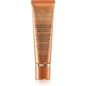 Collistar Tan Without Sunshine Self-Tanning Face Magic Gelée samoopalovací gel na obličej 30 ml