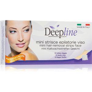 Arcocere Deepline voskové epilační pásky na obličej pro ženy 10 ks
