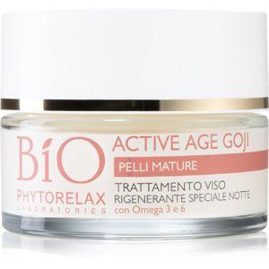 Phytorelax Laboratories Bio Active Age Goji noční krém s Anti-age efektem z bobulí Goji 50 ml