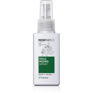 Framesi Morphosis Volumizing tvarující objemový sprej pro křehké vlasy 100 ml