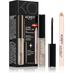 Korff Cure Makeup set na obočí odstín 03 Light brown