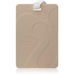 Mr & Mrs Fragrance Comfort Woody vonná karta 3 ks