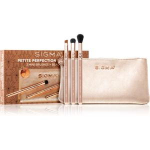 Sigma Beauty Rendezvous Petite Perfection Brush Set sada štětců s taštičkou