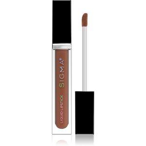 Sigma Beauty Liquid Lipstick matná tekutá rtěnka odstín Cashmere 5,7 g
