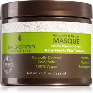 Macadamia Natural Oil Weighttless Repair obnovující maska pro všechny typy vlasů 222 ml