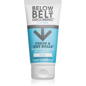 Below the Belt Grooming Cool gel na intimní partie pro muže 75 ml