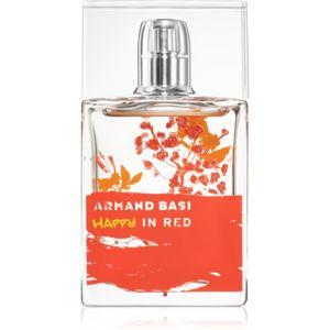 Armand Basi Happy In Red toaletní voda pro ženy 50 ml