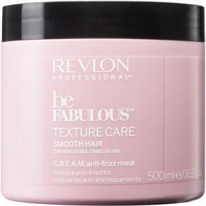 Revlon Professional Be Fabulous Texture Care hydratační a uhlazující maska 500 ml