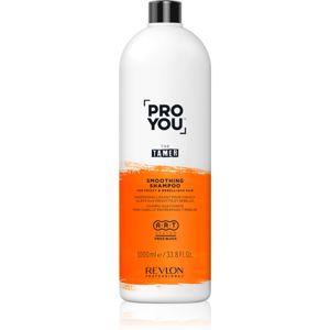 Revlon Professional Pro You The Tamer uhlazující šampon pro nepoddajné a krepatějící se vlasy 1000 ml