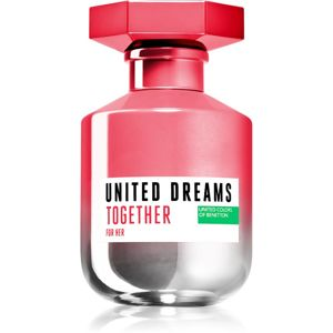 Benetton United Dreams for her Together toaletní voda pro ženy 80 ml