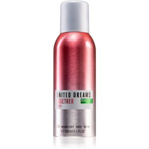 Benetton United Dreams for her Together deospray pro ženy 150 ml