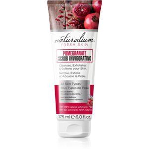 Naturalium Fresh Skin Pomegranate pečující tělový peeling 175 ml