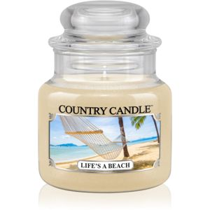 Country Candle Life's a Beach vonná svíčka 104 g