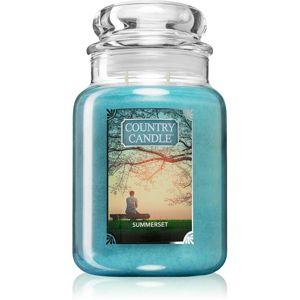 Country Candle Summerset vonná svíčka velká 652 g