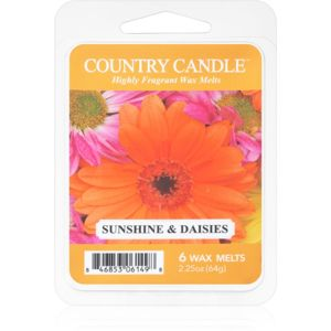 Country Candle Sunshine & Daisies vosk do aromalampy 64 g