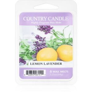 Country Candle Lemon Lavender vosk do aromalampy 64 g