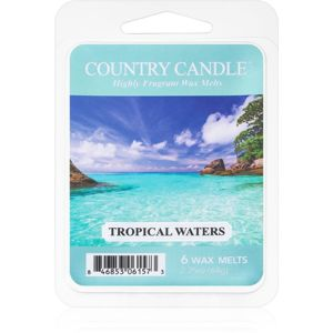Country Candle Tropical Waters vosk do aromalampy 64 g