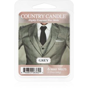 Country Candle Grey vosk do aromalampy 64 g