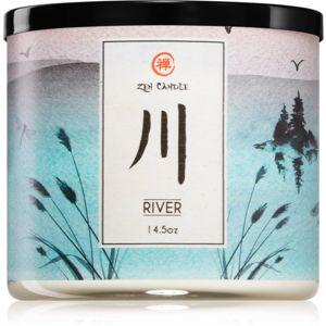 Kringle Candle Zen River vonná svíčka 411 g