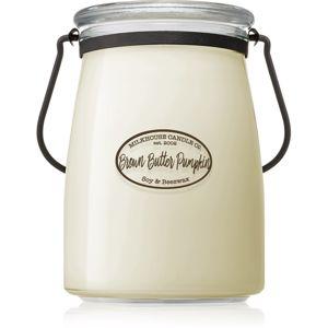 Milkhouse Candle Co. Creamery Brown Butter Pumpkin vonná svíčka Butter Jar 624 g