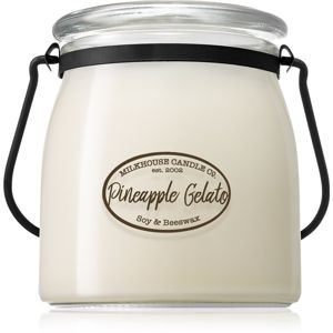 Milkhouse Candle Co. Creamery Pineapple Gelato vonná svíčka Butter Jar 454 g