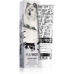 Pulp Riot Toner tónovací barva na vlasy Silver 90 ml