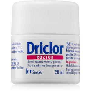 Driclor Solution antiperspirant roll-on proti nadměrnému pocení 20 ml