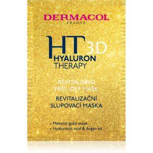 Dermacol HT 3D revitalizační slupovací pleťová maska s kyselinou hyaluronovou 15 ml