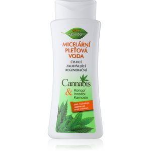 Bione Cosmetics Cannabis čisticí a odličovací micelární voda 255 ml