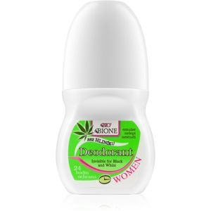 Bione Cosmetics Cannabis deodorant roll-on s vůní květin 80 ml