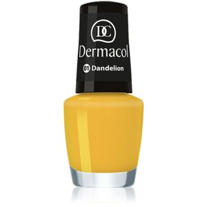 Dermacol Mini Summer Collection lak na nehty odstín 01 Dandelion 5 ml