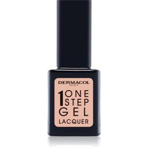 Dermacol One Step Gel Lacquer lak na nehty s gelovým efektem odstín 03 Innocent 11 ml