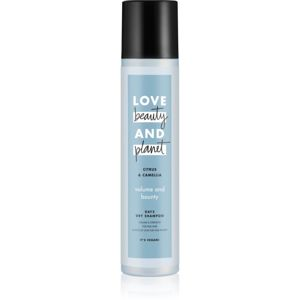Love Beauty & Planet Volume and Bounty suchý šampon pro jemné vlasy 245 ml