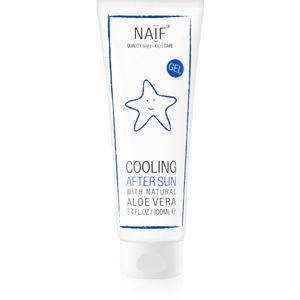 Naif Baby & Kids chladivý gel po opalování pro děti 100 ml