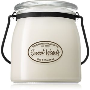 Milkhouse Candle Co. Creamery Sweet Woods vonná svíčka Butter Jar 454 g