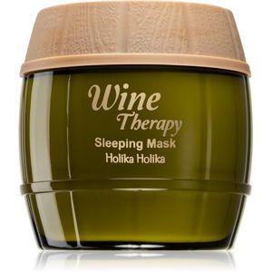 Holika Holika Wine Therapy noční hydratační maska