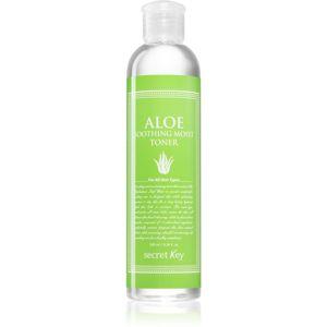 Secret Key Fresh Nature Aloe hydratační a zklidňující tonikum pro suchou pleť 248 ml
