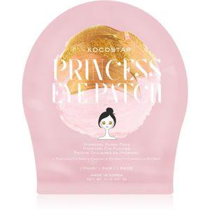 KOCOSTAR Princess Eye Patch hydrogelová maska na oční okolí pro mladistvý vzhled 3 g