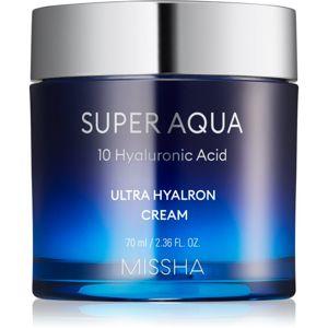 Missha Super Aqua 10 Hyaluronic Acid hydratační pleťový krém 70 ml