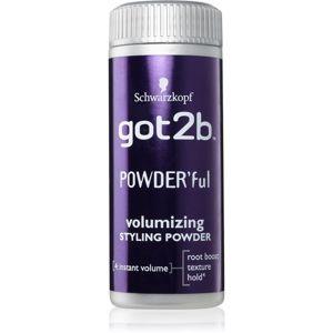 got2b PowderFul stylingový pudr pro dokonalý objem 10 g