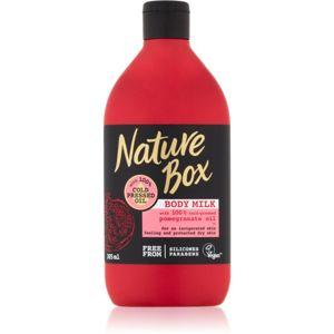 Nature Box Pomegranate povzbuzující tělové mléko s hydratačním účinkem 385 ml
