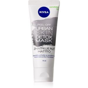 Nivea Urban Skin Detox zmatňující slupovací maska 75 ml