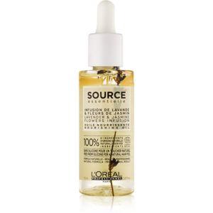 L'Oréal Professionnel Source Essentielle Lavender & Jasmine Flowers Infusion vyživující olej pro citlivé vlasy 70 ml