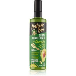 Nature Box Avocado Oil regenerační balzám pro poškozené vlasy ve spreji 200 ml