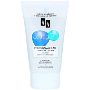 AA Cosmetics Collagen HIAL+ energizující čisticí gel 30+ 150 ml